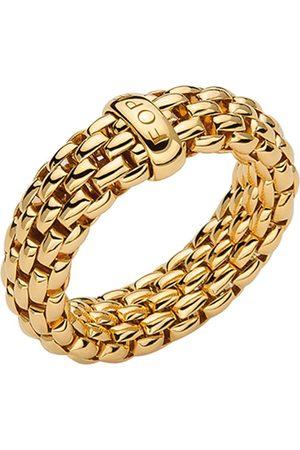 FOPE Essentials 18ct Yellow Gold Flex'it 7mm Medium Ring