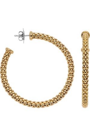 FOPE Essentials 18ct Yellow Gold Hoop Earrings