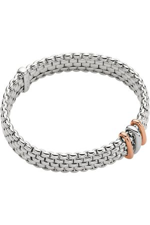 FOPE 18ct White & Rose Gold Panorama Exclusive Bracelet
