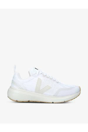 Veja Women's Condor 2 logo-embroidered woven trainers