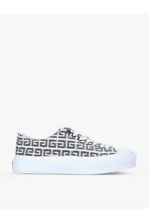 Givenchy City 4G-print jacquard low-top trainers