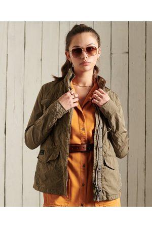 Superdry Women Jackets - New Military M65 Jacket