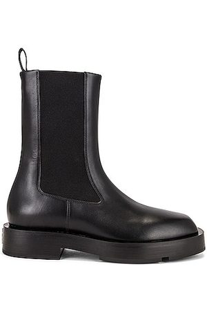 Givenchy Women Ankle Boots - Squared Chelsea Ankle Boots in