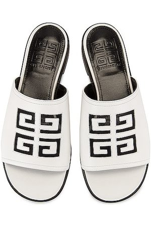 Givenchy 4G Flat Mule Sandals in