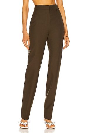 Givenchy Tailored Pant in Dark Khaki