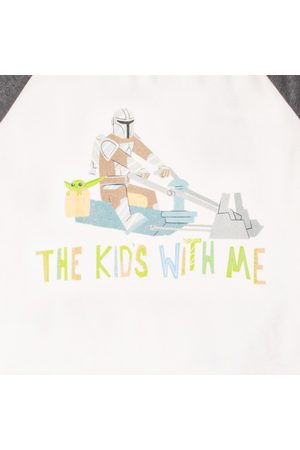 Men Pyjamas - Star Wars The Mandalorian The Kid's With Me Men's Pyjama Set