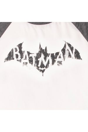 Men Pyjamas - Batman Distressed Embelem Men's Pyjama Set
