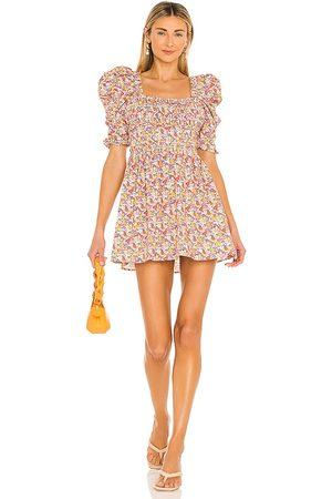 For Love & Lemons Libby Mini Dress in . Size S, XS, M.
