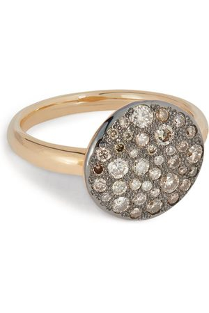 Pomellato Women Rings - Rose and BrownDiamond Sabbia Ring