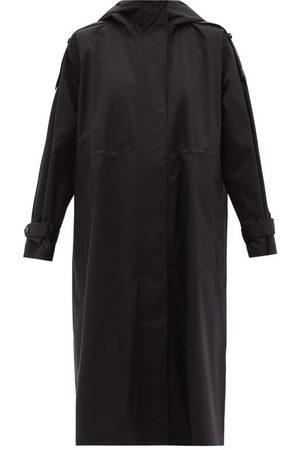 Moncler Amarinthe Longline Shell Coat - Womens