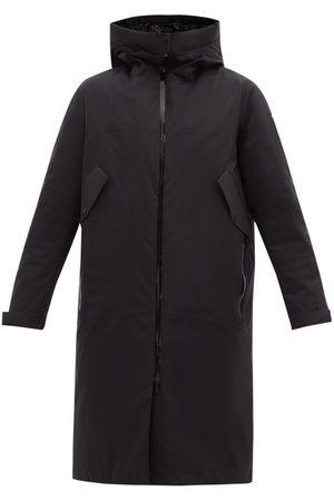 Moncler Mauve Shell Hooded Coat - Womens