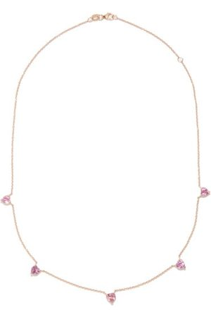 Shay Sapphire & 18kt Rose-gold Necklace - Womens - Multi