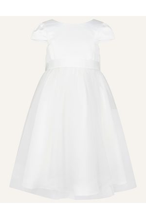 Monsoon Girls Dresses - Ivory (IVORY) Tulle Bridesmaid Dress, in Size: 8 Years