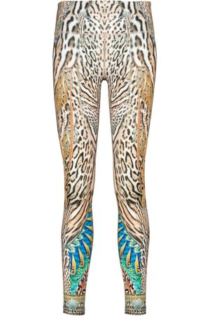 Camilla Leopard-print leggings