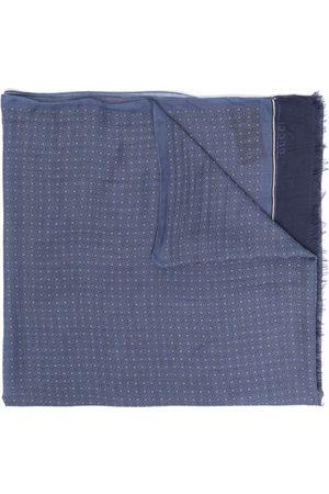 Gucci Men Scarves - Lightweight fringed scarf