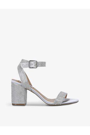 Steve Madden Women Heels - Malia sequinned heeled sandals