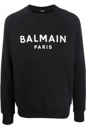 Balmain Logo-print crew-neck sweatshirt