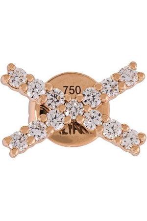 ALINKA 18kt gold KATIA diamond stud earring - Metallic