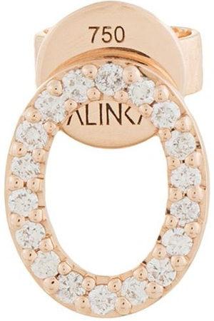 ALINKA Women Earrings - 18kt rose CLOUD diamond stud