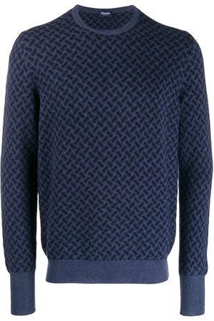 DRUMOHR Men Sweatshirts - Crew-neck cashmere sweater