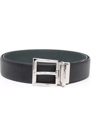 Prada Men Belts - Reversible buckle belt