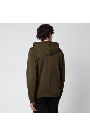Polo Ralph Lauren Men Sweatshirts - Men's Double Knitted Full Zip Hoodie