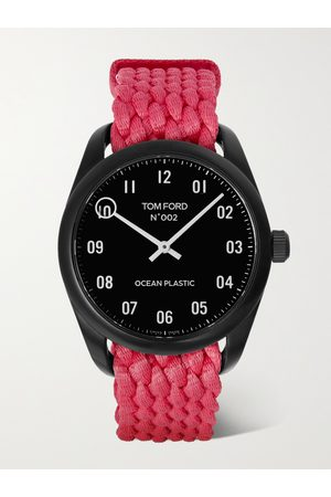TOM FORD TIMEPIECES 002 40mm Ocean Plastic Watch