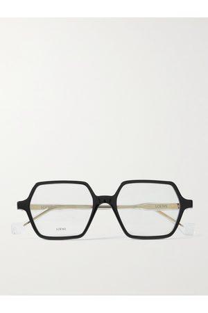 Loewe Men Sunglasses - Hexagon-Frame Acetate Optical Glasses