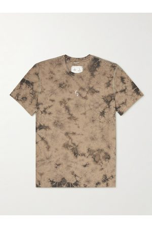 Reigning Champ Ryan Willms Printed Tie-Dyed Jersey T-Shirt