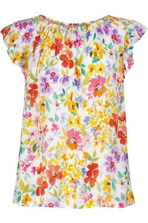 Velvet Elliott floral blouse