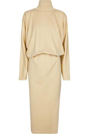 LEMAIRE Turtleneck cotton sweater dress