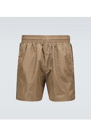 Gucci Nylon GG swim shorts
