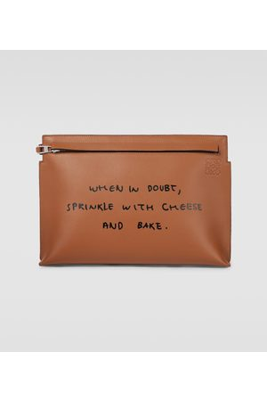 Loewe T Words pouch