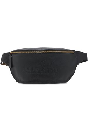 VALENTINO GARAVANI Logo Leather Belt Bag