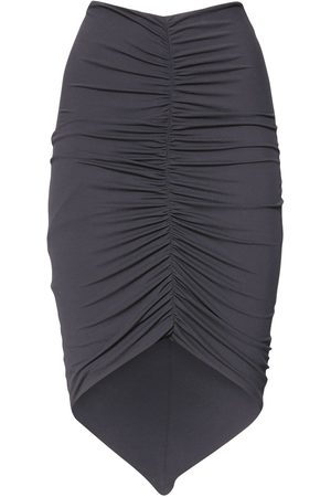 ALEXANDRE VAUTHIER Asymmetric Stretch Jersey Skirt