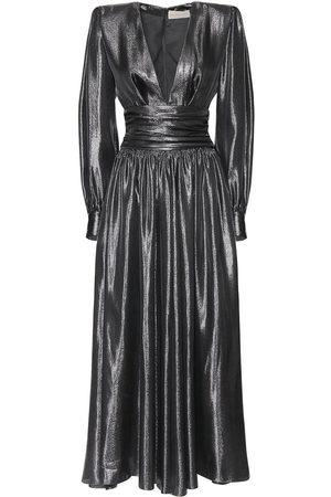 ALEXANDRE VAUTHIER Lamé Couture Long Dress