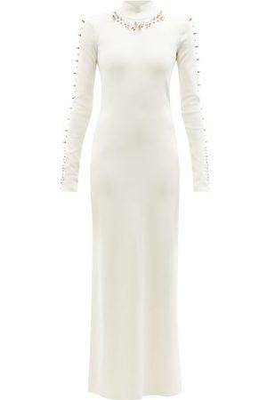 Givenchy Hardware-embellished Jersey Maxi Dress - Womens