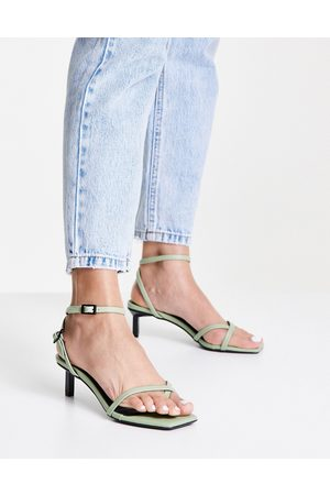 Senso Jamu III strappy heeled sandals in pistachio
