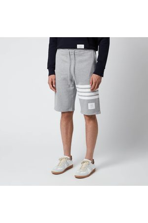 Thom Browne Men Sweatshirts - Men's Engineered Four-Bar Classic Loopback Sweat Shorts