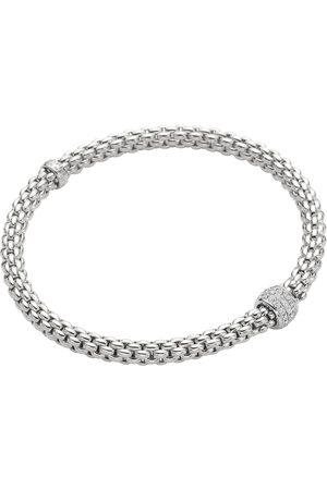 FOPE 18ct White Gold Solo Bracelet