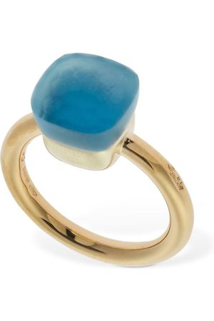 Pomellato Nudo Gelè 18kt Ring W/ Sky Blue Topaz