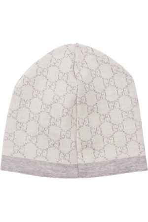 Gucci Logo Jacquard Wool Hat