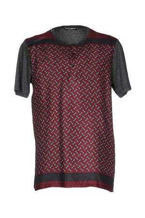 Dolce & Gabbana Men Short Sleeve - TOPWEAR - T-shirts