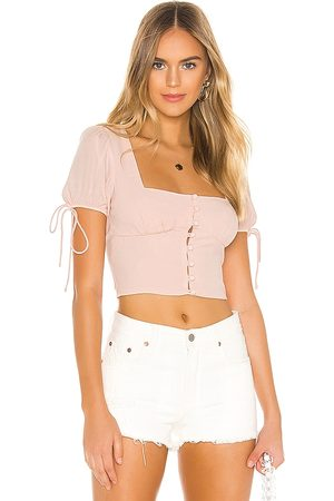 superdown Rosa Button Up Top in . Size XS, S, M.