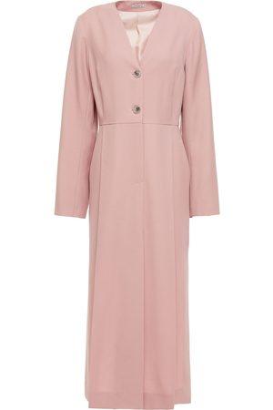 NINA RICCI Woman Pleated Wool-twill Midi Dress Baby Size 34