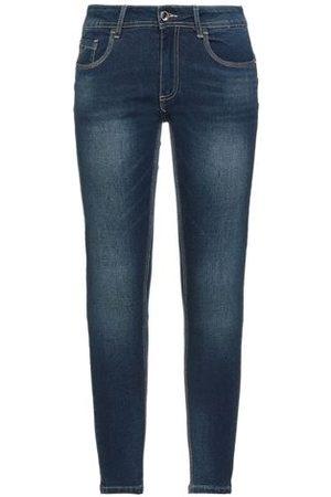 YES ZEE BY ESSENZA Women Trousers - DENIM - Denim trousers