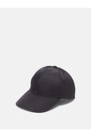 Prada Men Hats - Triangle Logo-plaque Nylon Baseball Cap - Mens