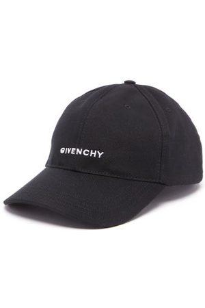 Givenchy Men Hats - Logo-embroidered Cotton-twill Baseball Cap - Mens