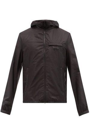 Prada Re-nylon Hooded Jacket - Mens