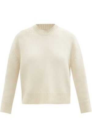 BROCK COLLECTION Women Jumpers - T-swami Cashmere Sweater - Womens - Cream